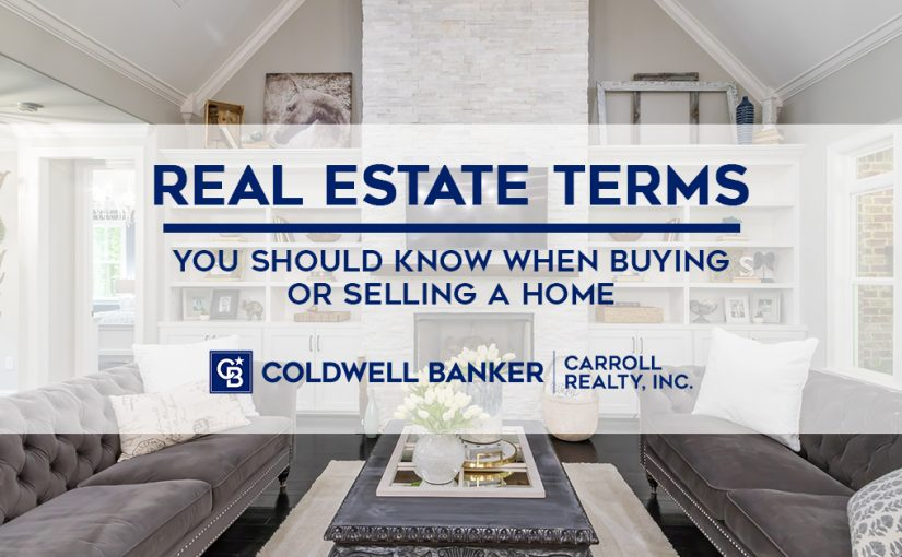 Real Estate Terms you should know when buying or selling a home