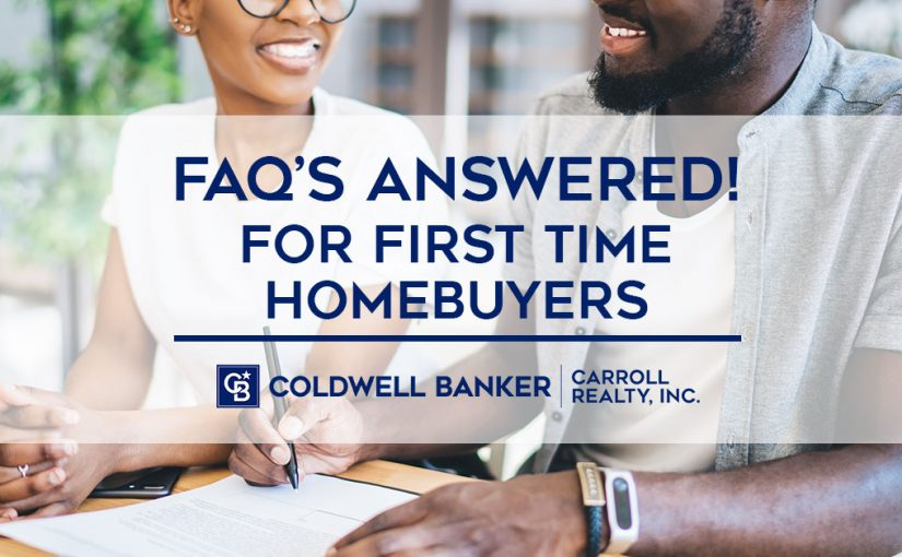 FAQs Answered! For First Time Homebuyers